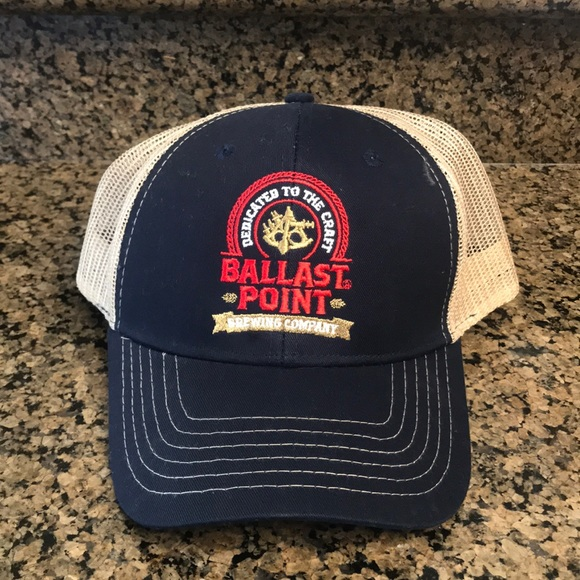 a289849e3 Ballast Point Brewing Company Hat NEVER WORN!